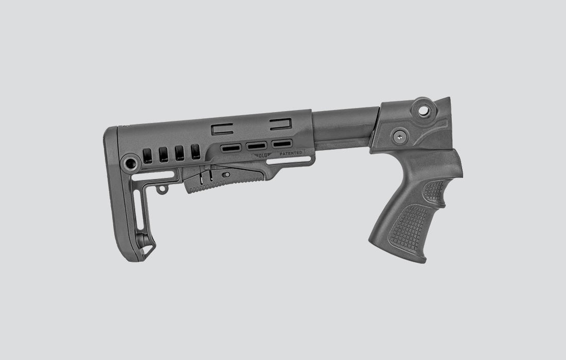 Russian Baikal MP-155 handle with hitch stopper